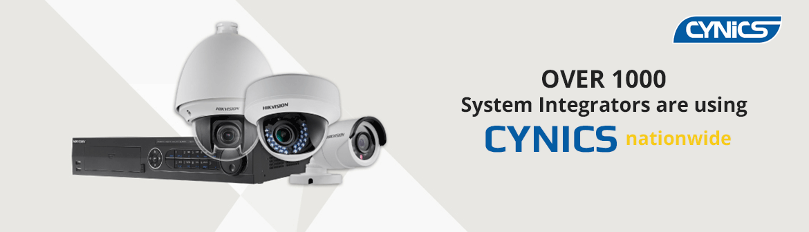 Over 1000 System Integrators are using Cynics nationwide